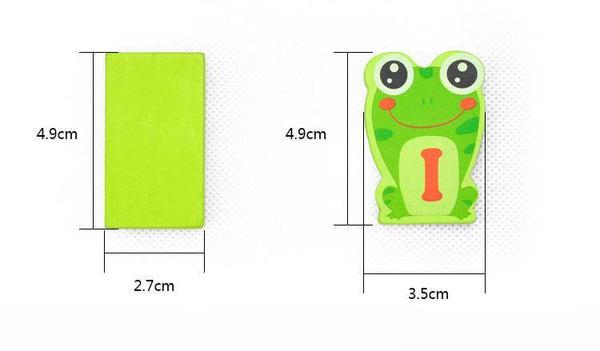 Wooden Frog Domino - 100 Pcs