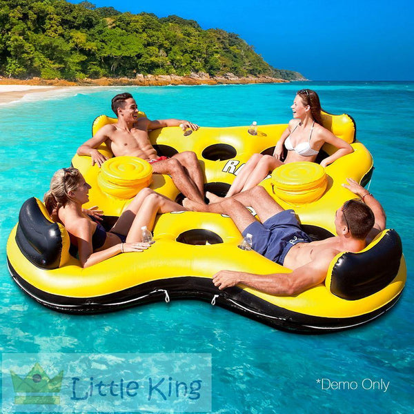 Bestway 4 People Inflatable Floating Island
