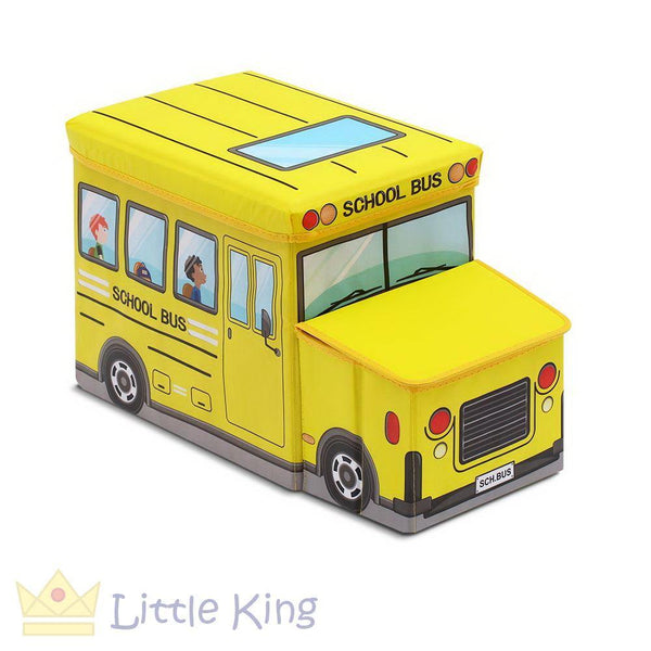 Kids Toy Storage Box - Yellow
