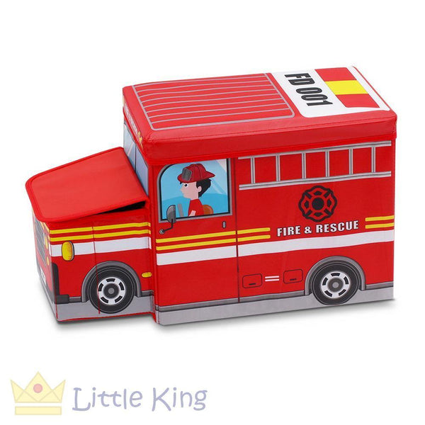 Kids Toy Storage Box - Red