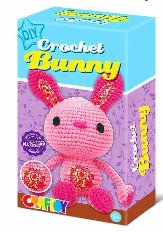 Crochet Bunny by Craftoy