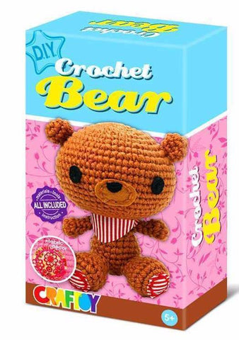 Crochet Bear by Craftoy