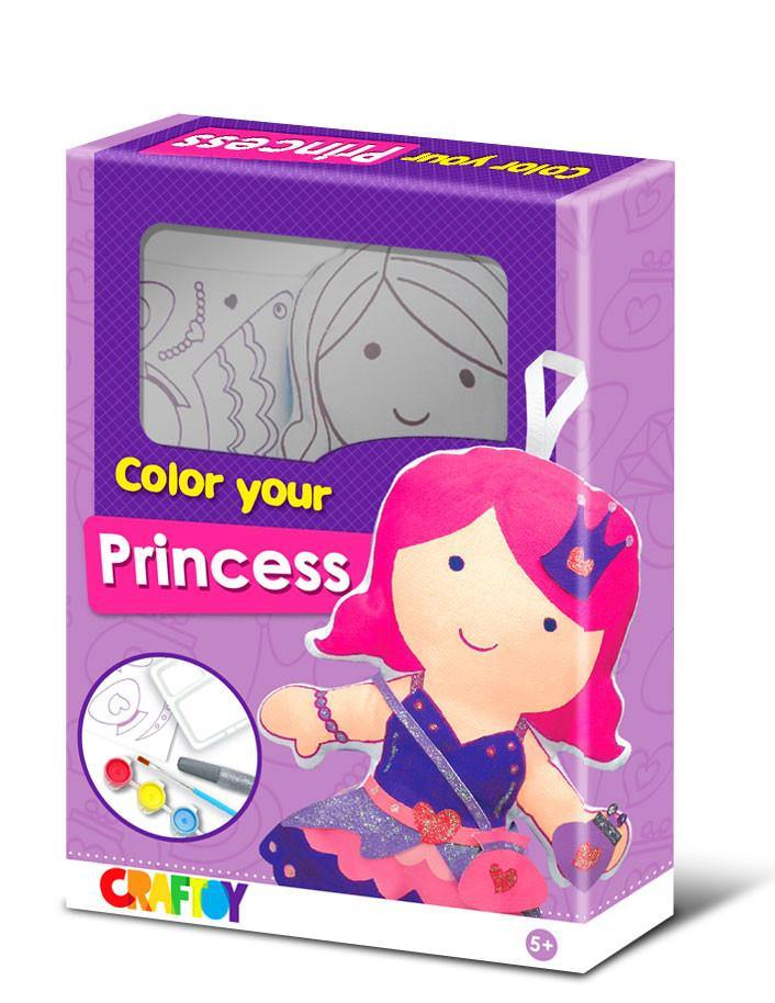 Color Your Doll - Princess by Craftoy