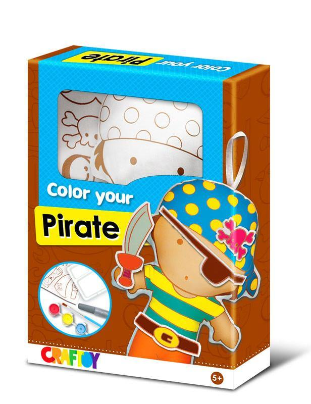 Color Your Doll - Pirate by Craftoy
