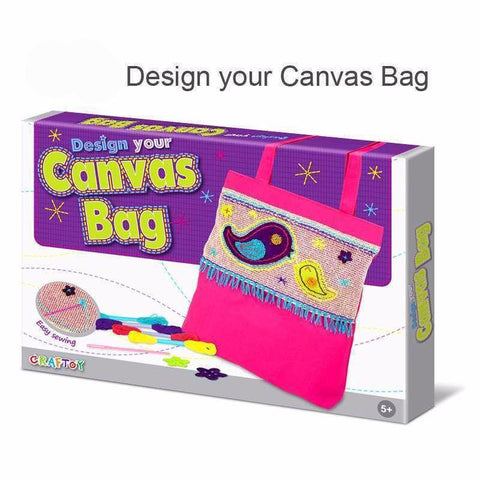 Canvas Bag Bird by Craftoy