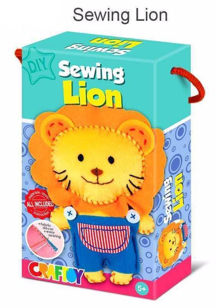 Sewing Kit Lion by Craftoy