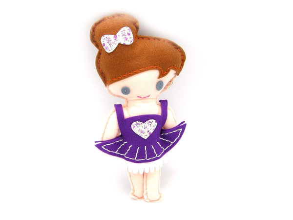 Sewing Doll Kit Ballerina by Craftoy