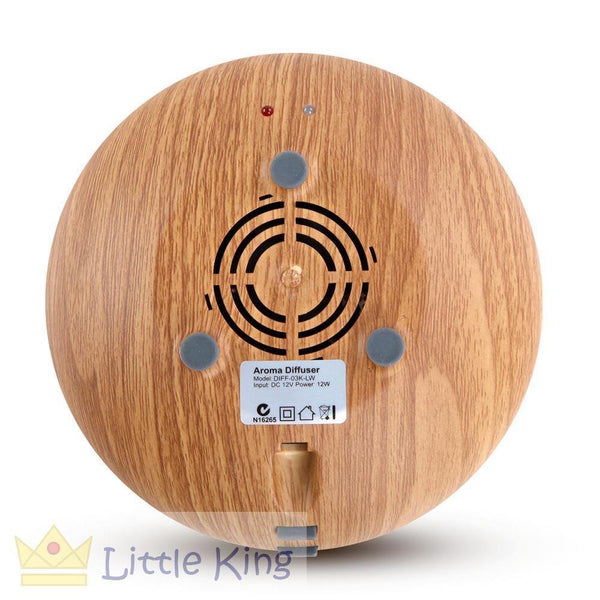 160ml 4-in-1 Aroma Diffuser Light Wood 2