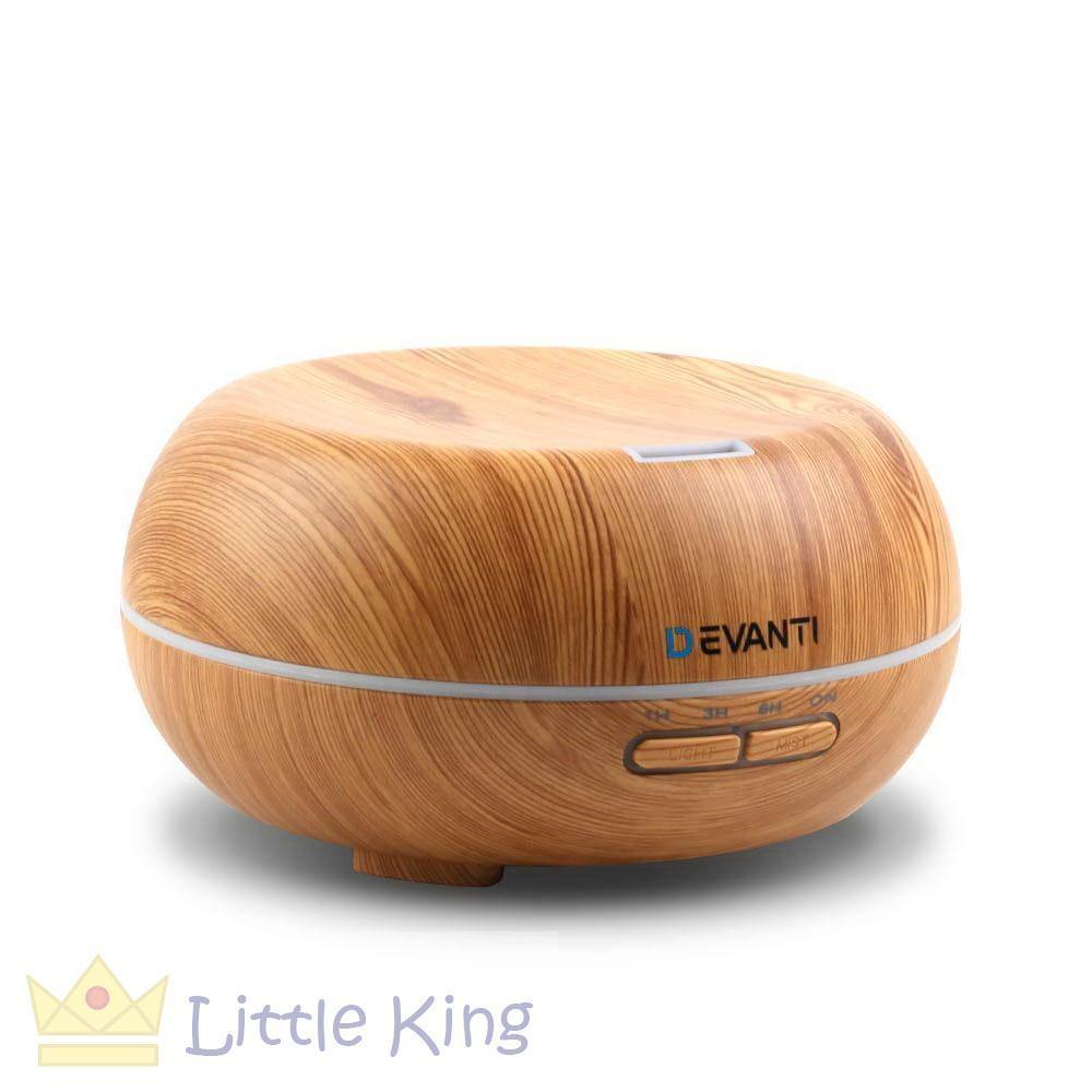 200ml 4-in-1 Aroma Diffuser Light Wood