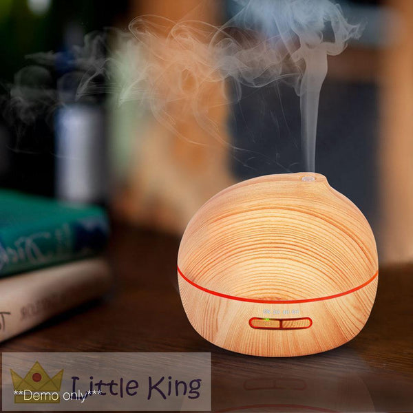 4 in 1 Ultrasonic Aroma Diffuser 300ml - Light Wood
