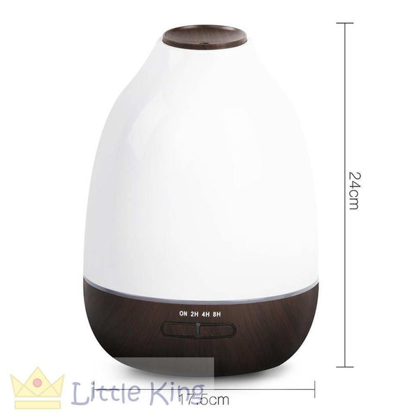 4 in 1 Ultrasonic Aroma Diffuser 500ml - Dark Wood 2