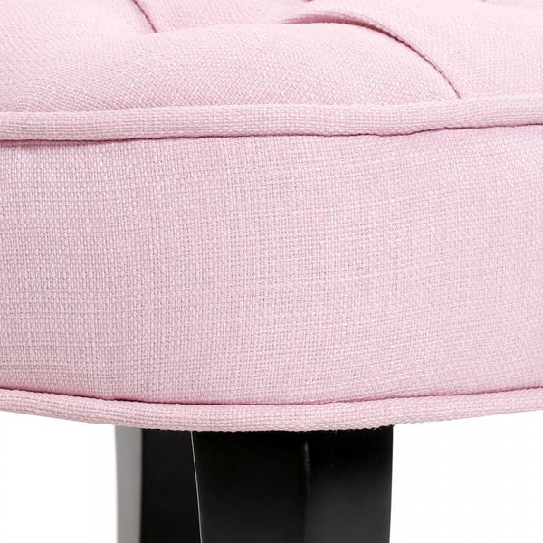 French Provincial Fabric Sofa For Kids - Pastel Pink