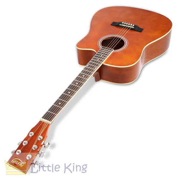 "41"" Acoustic Cutaway Steel Stringed Guitar - Wood"