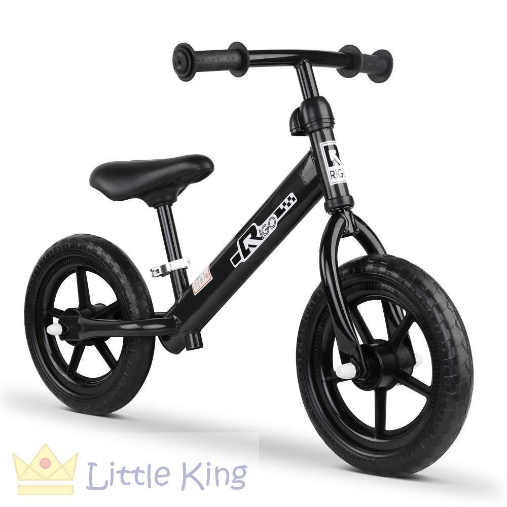 Kids Balance Bike 12 Inch - Black
