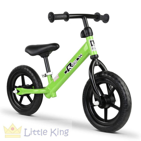 Kids Balance Bike 12 Inch - Green