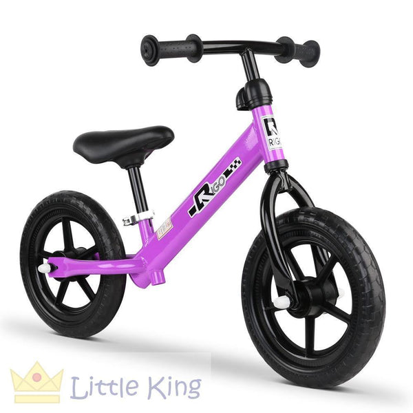 Kids Balance Bike 12 Inch - Purple
