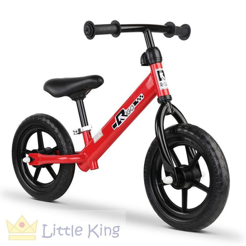 Kids Balance Bike 12 Inch - Red