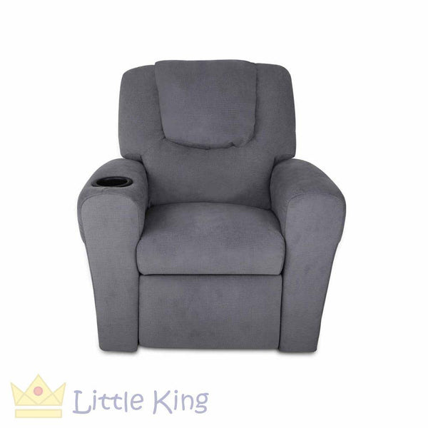 Kids Recliner Chair - Grey
