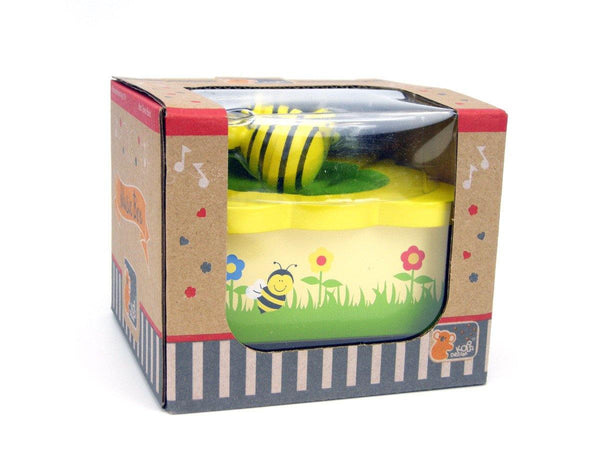 Wooden Music Box - Bee