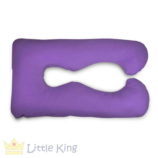 Maternity Body Support Pillow - Purple