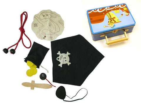 Pirate Playset in Tin Case by Kaper Kidz
