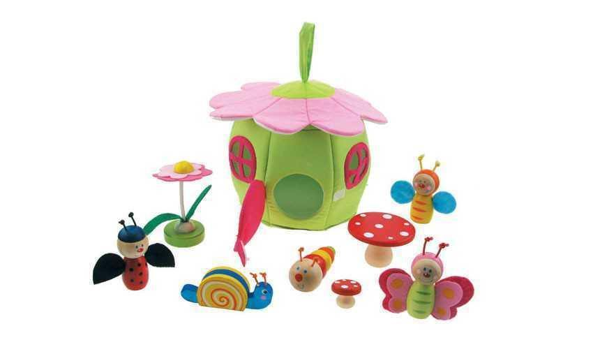 Wooden Insects Playset by Kaper Kidz