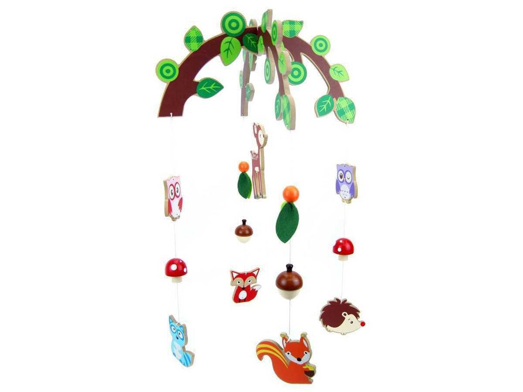 Wooden Forest Friends Mobile by Kaper Kidz