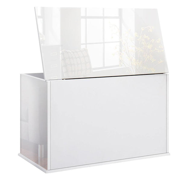 Wooded Chest Drawer / Nursery Toy Box - Gloss White