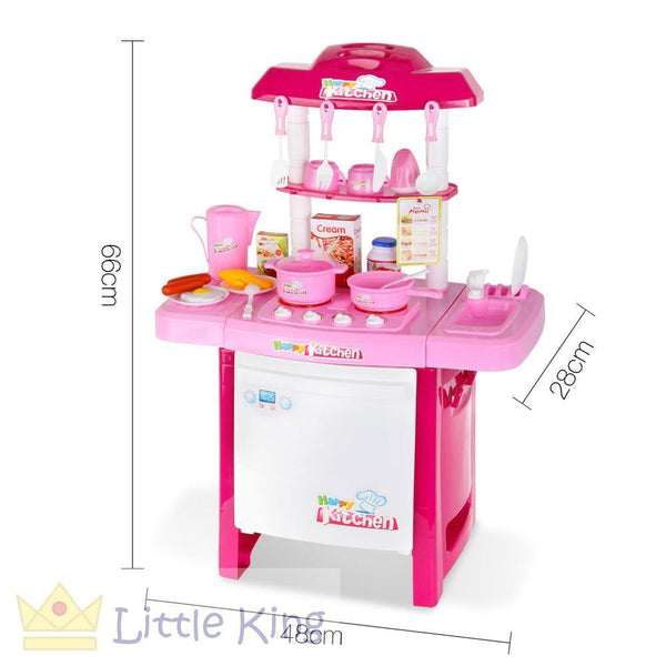 Little Chefs Kitchen Play Set 25 Piece - Pink