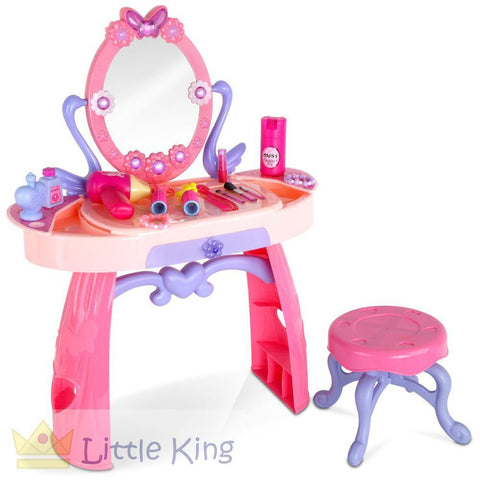 Make Up Dresser Play Set 28 Piece - Pink