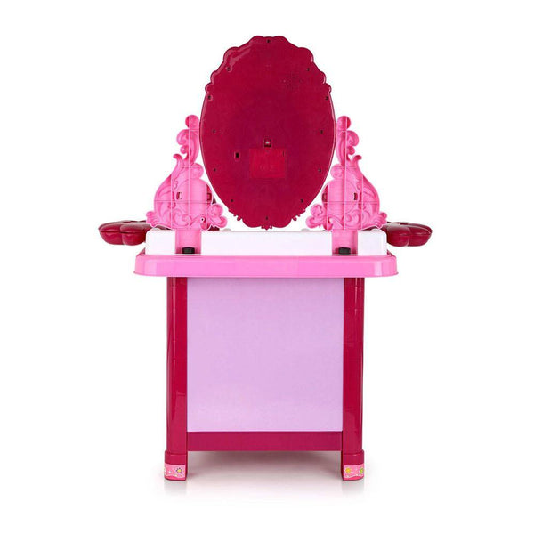 Kids Play Set Make Up Dresser 30 Piece - Pink