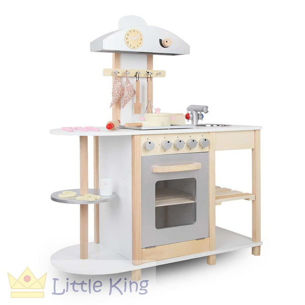 Wooden Kitchen Playset - C
