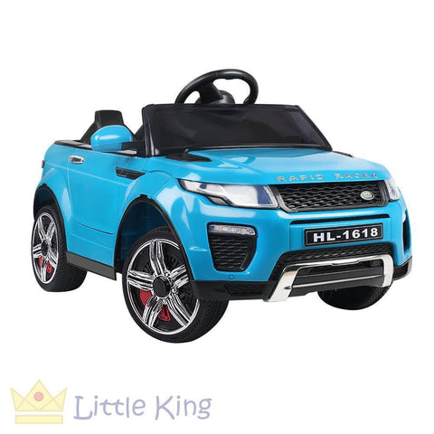 Rigo Kids Ride On Car - Evoque Blue