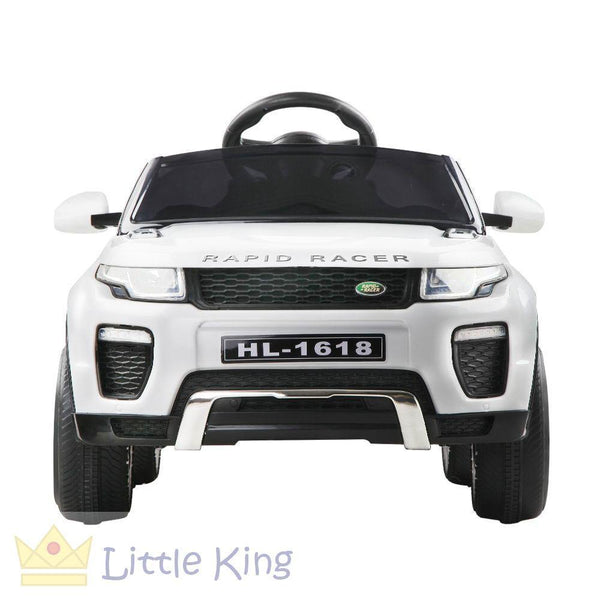 Rigo Kids Ride On Car - Evoque White