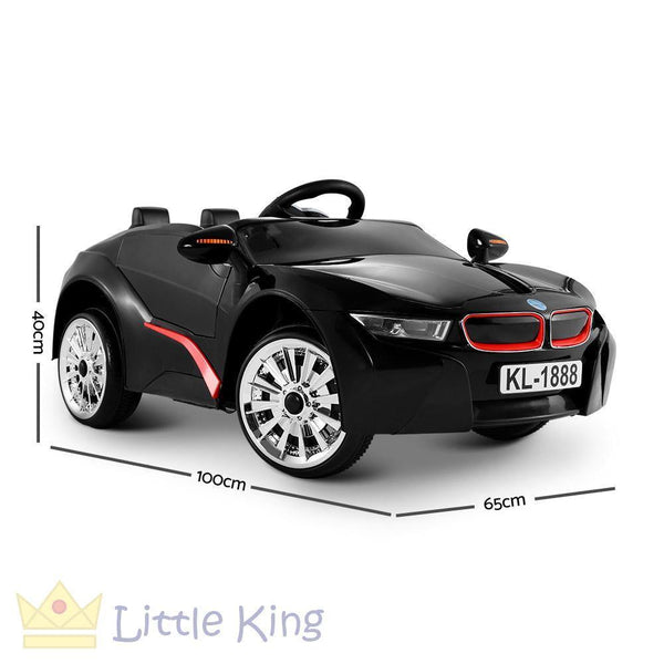 BMW i8 Style Electric Toy Car - Black