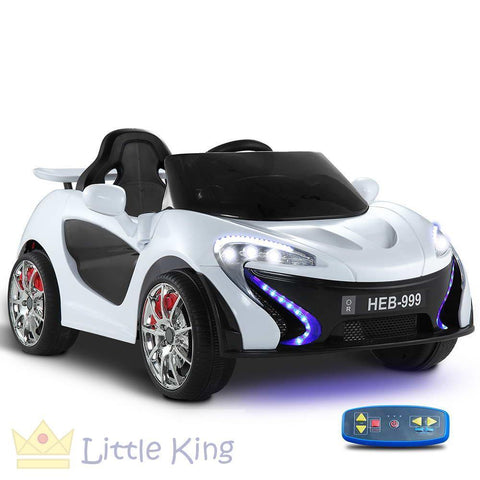 Kids Ride on Car - White