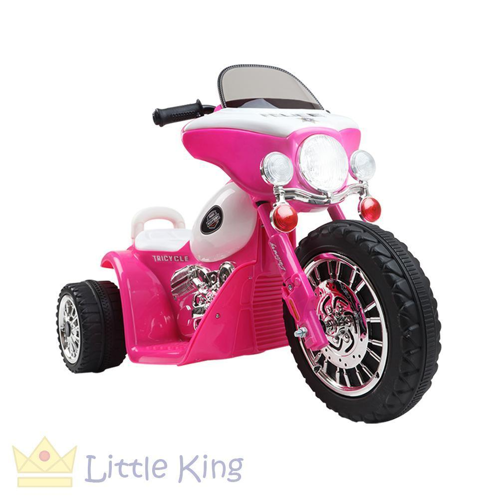 Ride on Motorbike - Police Pink