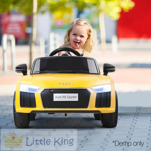Kids Ride On Car - R8-S Yellow