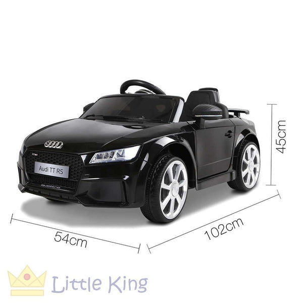Ride on Car Audi TT RS - Black