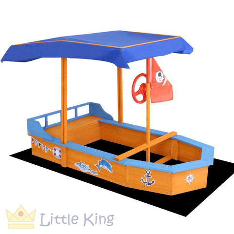 Boat-shaped Canopy Sand Pit
