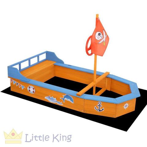 Boat-Shaped Sand Pit