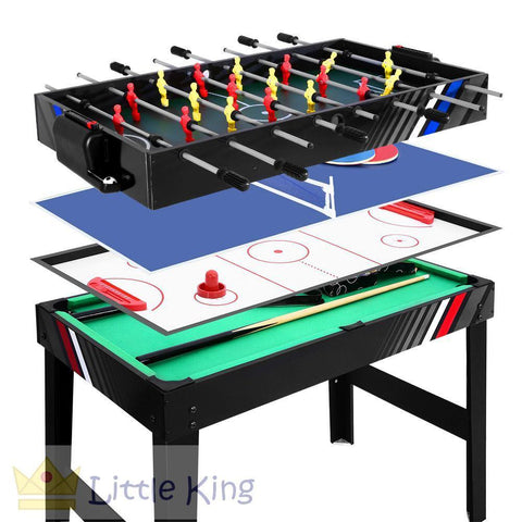 4FT 4 In 1 - Soccer, Tennis, Ice Hockey & Pool Table