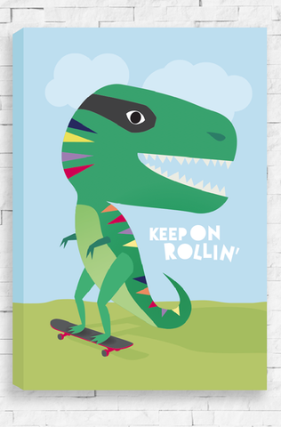 Keep On Rollin - Canvas