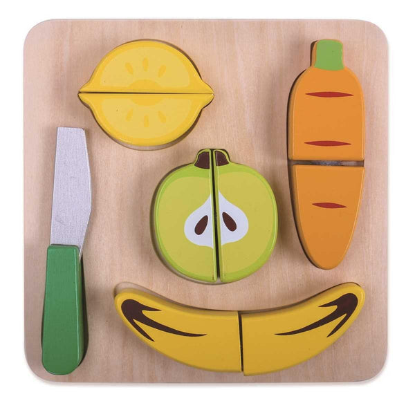 Fruit Cutting Play Set by Tooky Toy