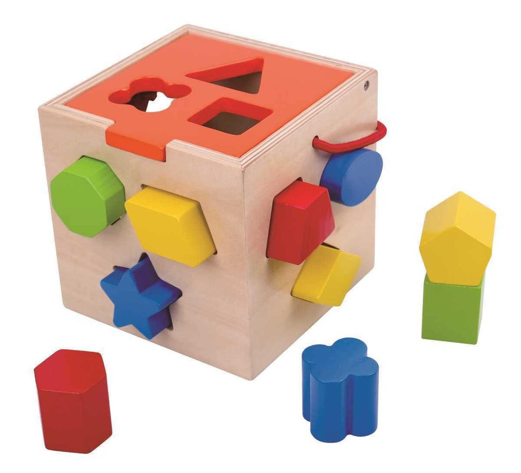 Wooden Shape Sorter by Tooky Toy