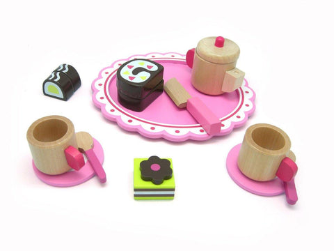 Wooden Afternoon Tea Set by Tooky Toy