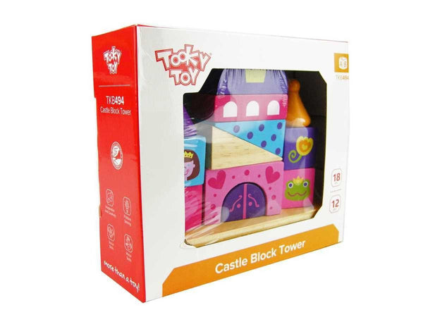 Castle Block Tower by Tooky Toy