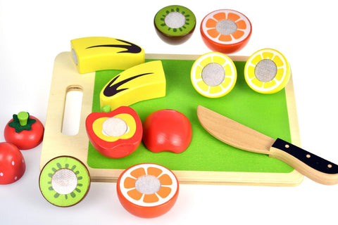 Wooden Cutting Fruits