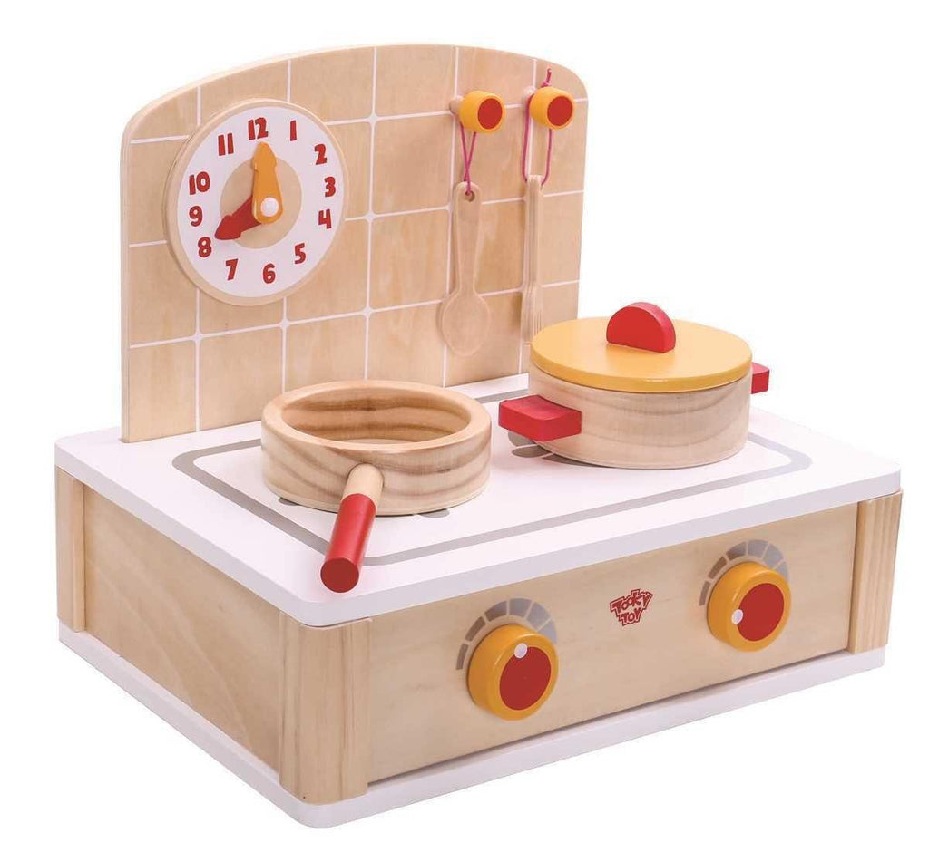 Wooden Cute Kitchen Set by Tooky Toy