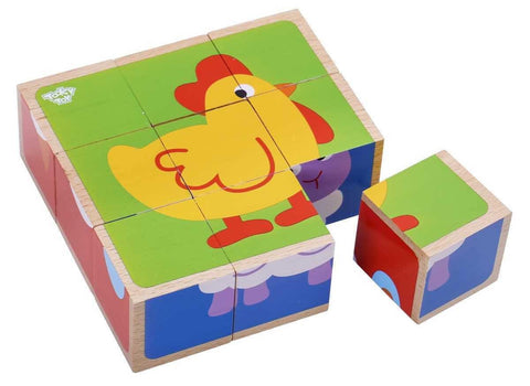Block Puzzle - Animals by Tooky Toy
